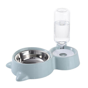Automatic Cat Feeder With Water Dispenser - KittenLands