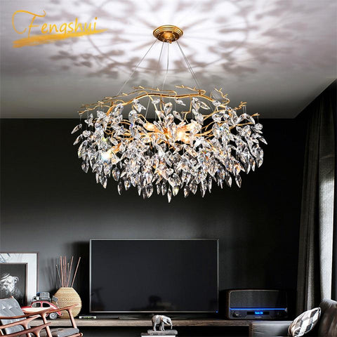 Luxury Gold Crystal Chandelier Lighting - Your Chandelier