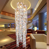 Luxury LED Lead Crystal Chandelier