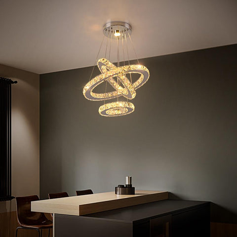 Crystal Led Pendant Lights - Your Chandelier