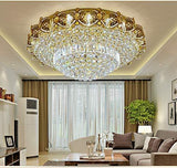 Modern K9 Crystal Gold Chandelier - Your Chandelier
