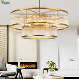 Luxury Gold Retro Chandelier