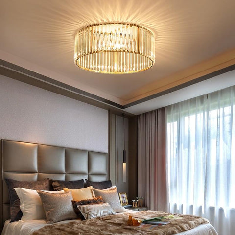 Crystal Round Ceiling Light - Your Chandelier