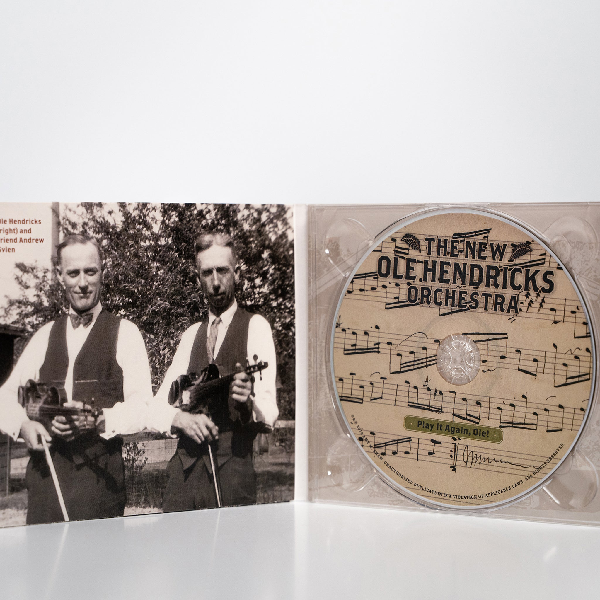 Play It Again, Ole! by The New Ole Hendricks Orchestra CD