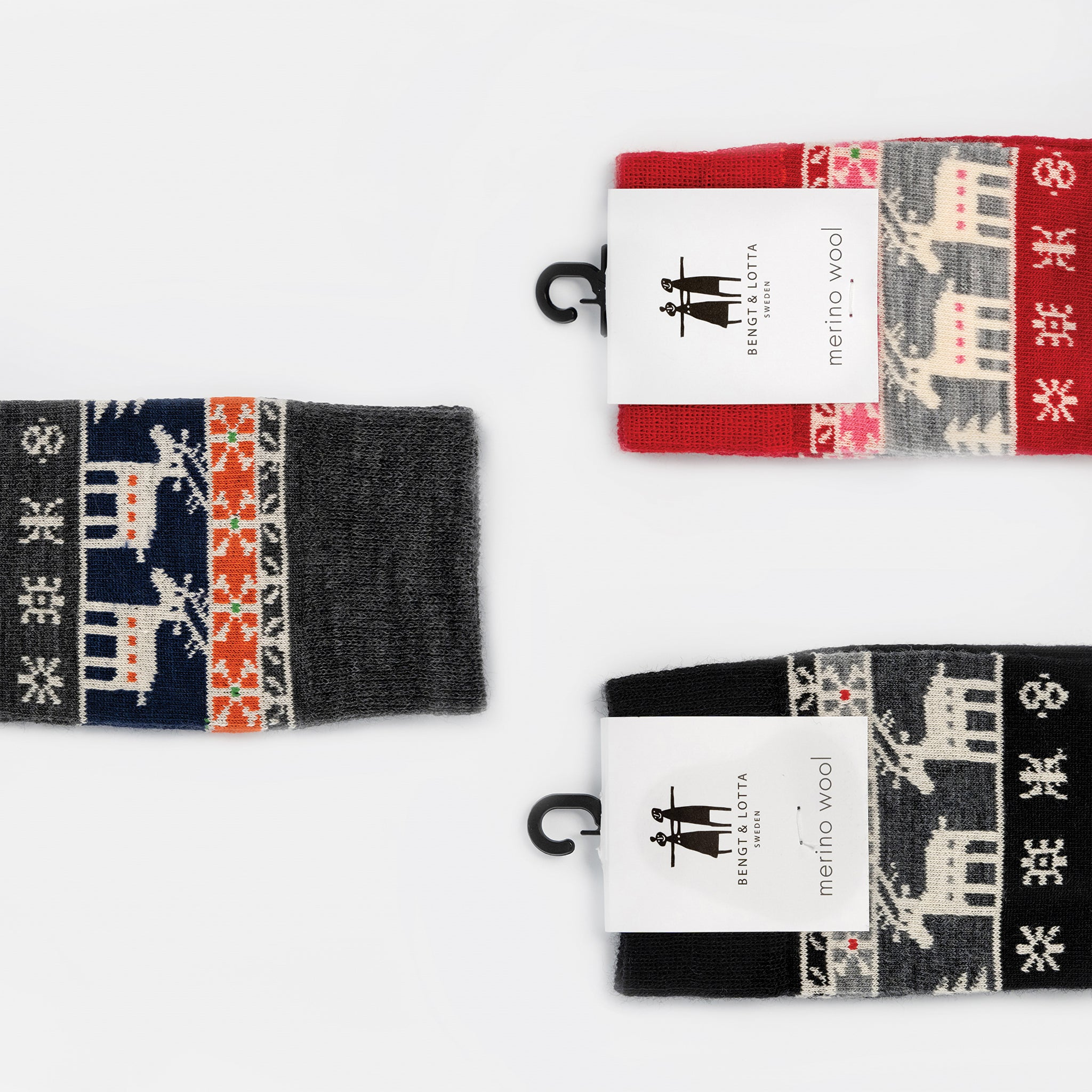 Reindeer Socks from Bengt & Lotta