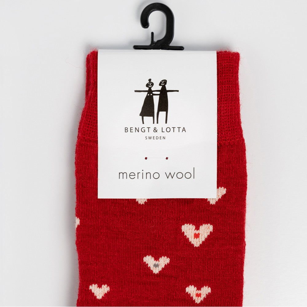 Small Hearts Socks from Bengt & Lotta