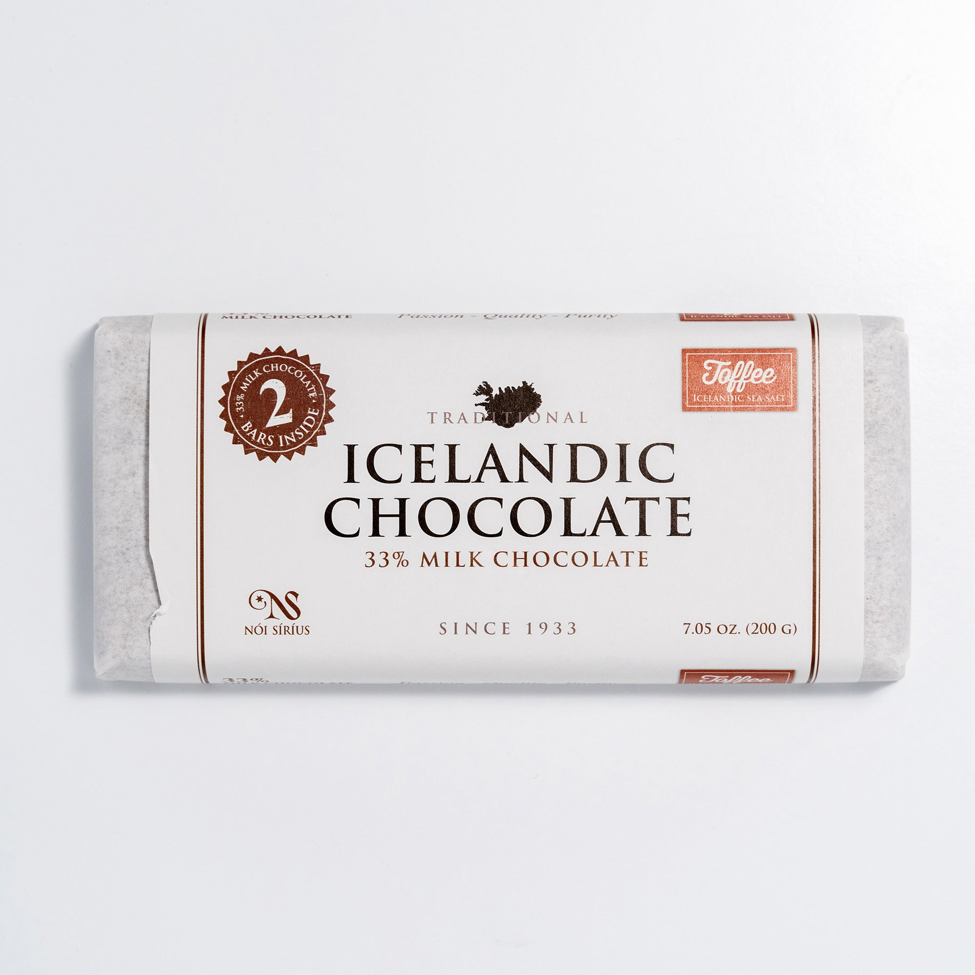 Icelandic Toffee Chocolate