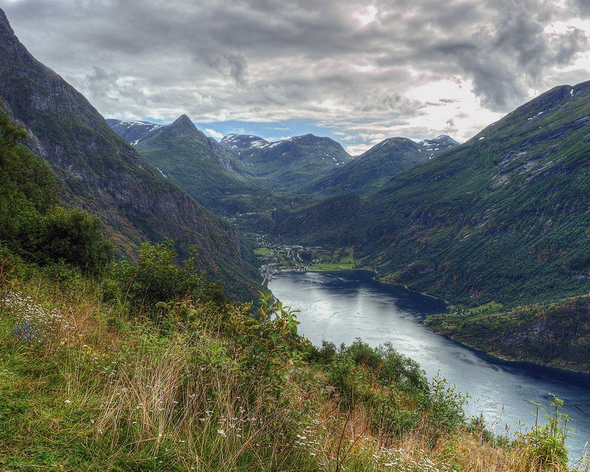 Landscape Photography by Bill Wild - Geirangerfjord and Geiranger