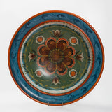 Valdres Bowl with Rosemaling By Jan Norsetter