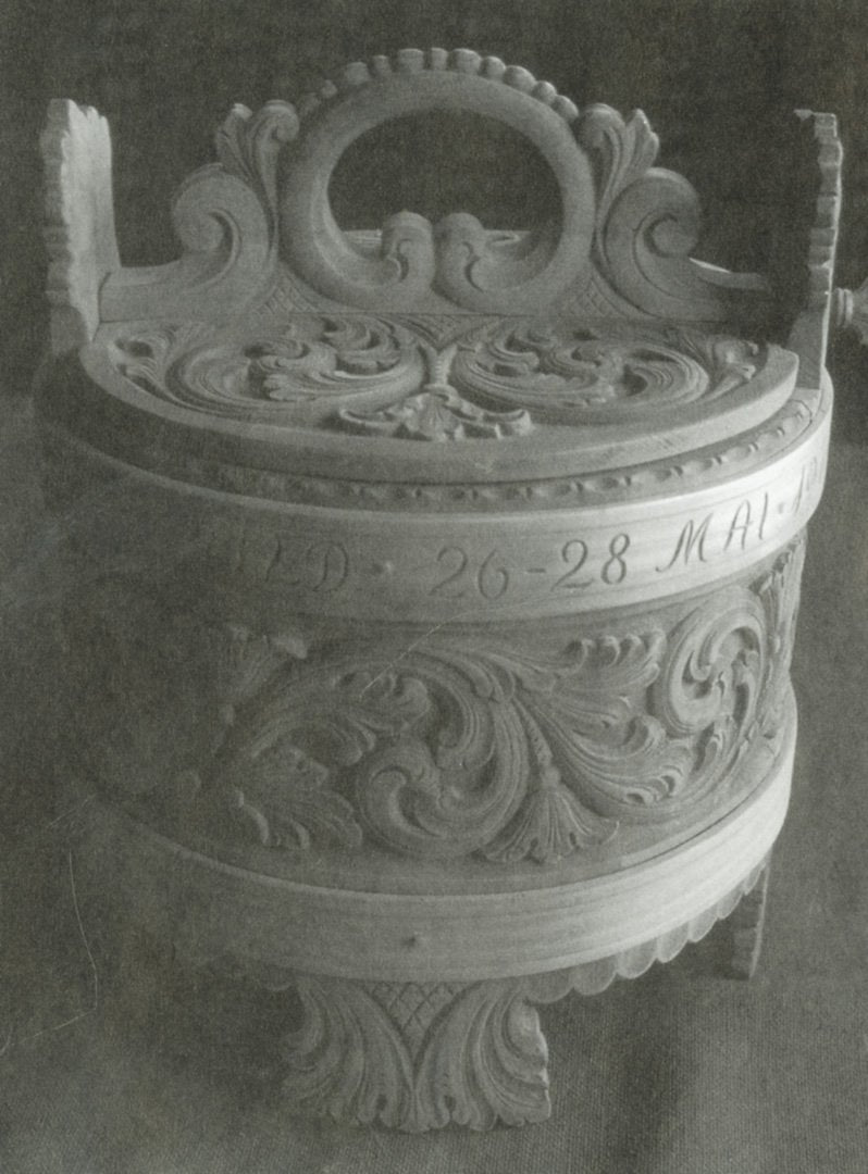 Amrud Acanthus Carving Pattern # 35- Grautspann (Porridge Bucket) Default Title