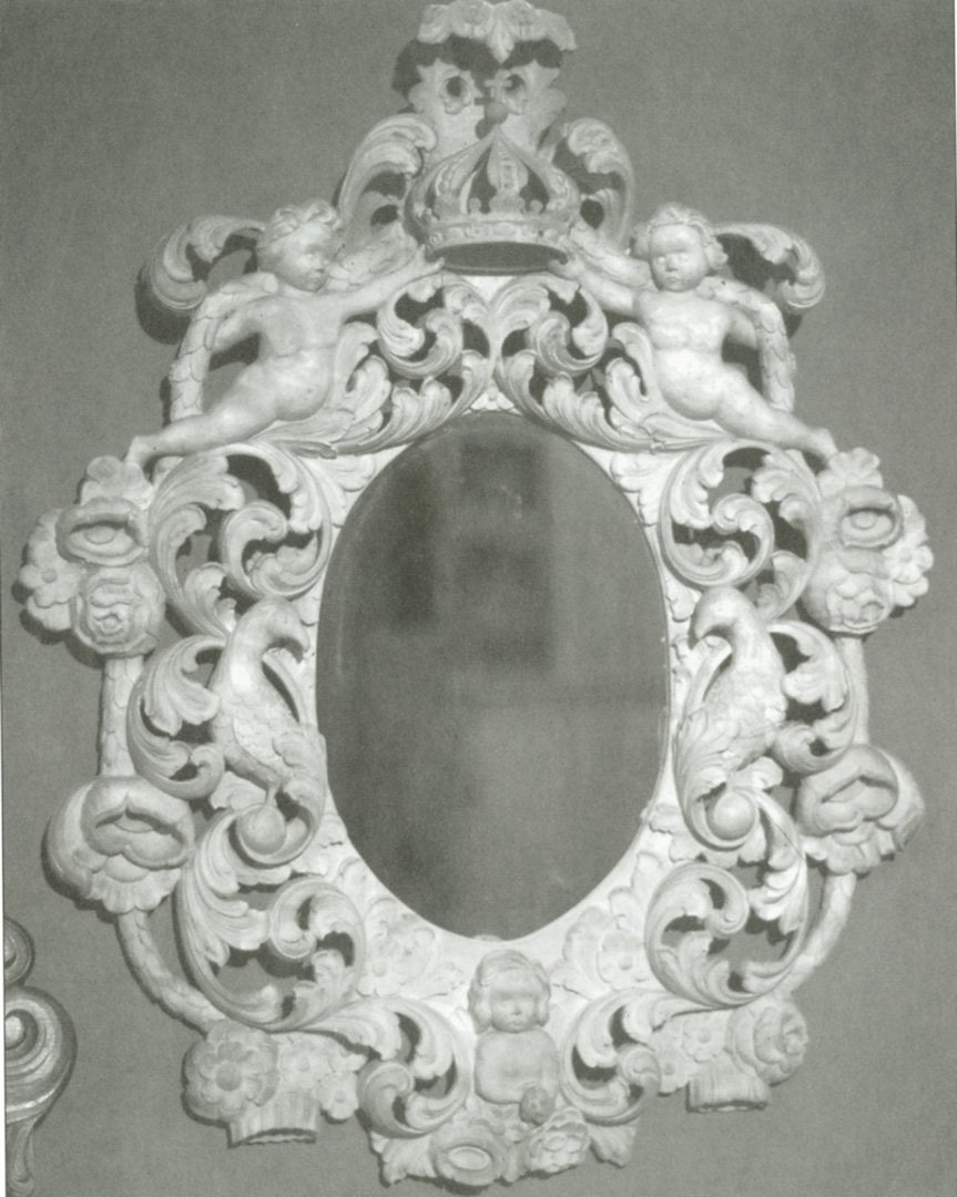 Amrud Acanthus Carving Pattern #93- Barokspeil (Baroque Mirror) Default Title