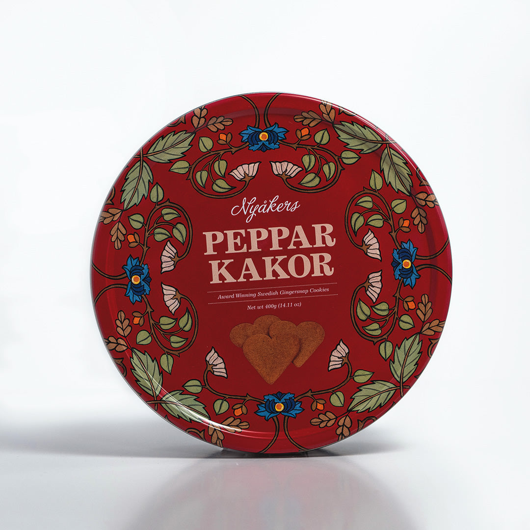 Nyaker's Pepparkakor Cookie Tin