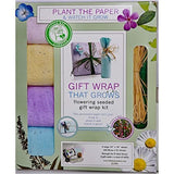 triumph plant gift wrap that grows.  eco friendly gift wrap.  gift wrap alternative