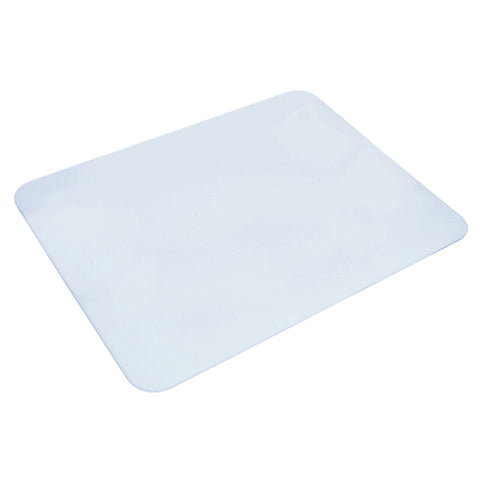 "70-6-0 20"" x 36"" Eco-Clear™ Desk Pad with Exclusive Microban Antimicrobial Protection, Frosted"