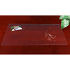 "Artistic 70-8-0 29"" x 59"" Eco-Clear Desk Pad Desk Protector Microban Antimicrobial Protection Clear"