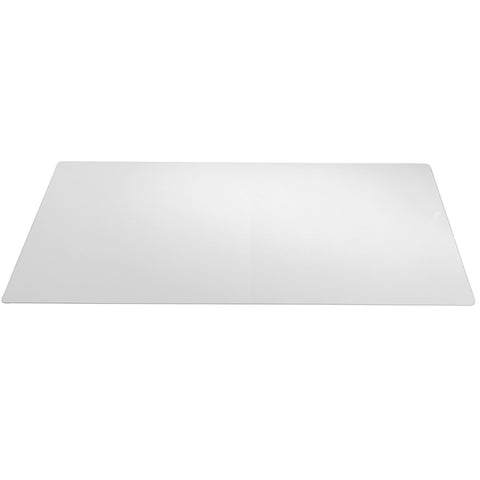 "70-8-0 29"" x 59"" Eco-Clear® Desk Pad Desk Protector with Microban Antimicrobial Protection, Clear"
