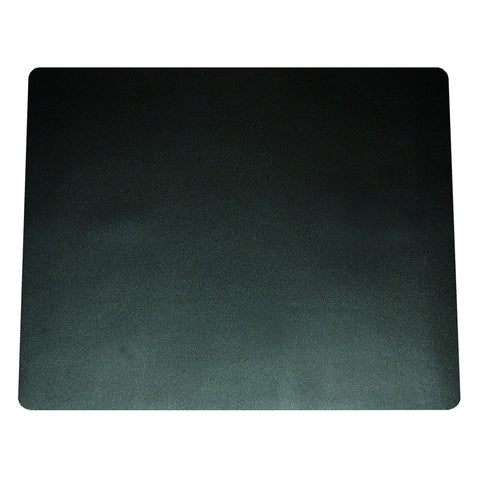 "75-4-0 19"" x 24"" Eco-Black™ Desk Pad with Microban®, Black"