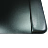 "Artistic 4138-4-1 19"" x 24"" Antimicrobial Executive Desk Pad Microban Black"