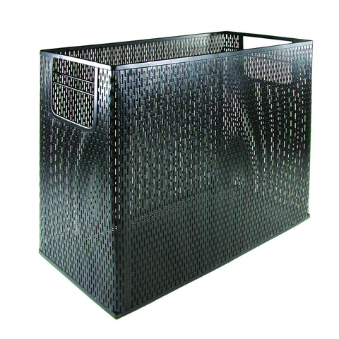 ART20010 Urban Collection Punched Metal Desktop File, Black