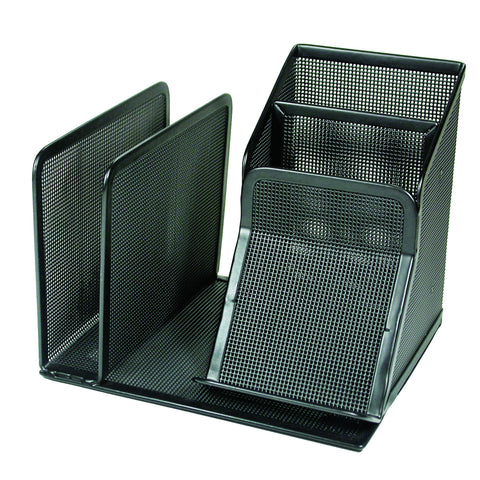 ART21007C Contemporary Mesh Metal Mini Desktop Organizer