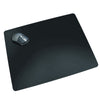 "Artistic LT41-2M 17"" x 24"" Rhinolin II Ultra-Smooth Writing Pad Desk Mat Antimicrobial Protection Black"