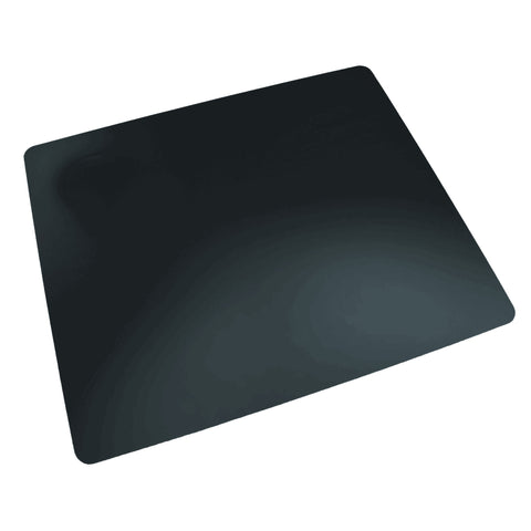 "LT41-2M 17"" x 24"" Rhinolin II Ultra-Smooth Writing Pad Desk Mat with Antimicrobial Product Protection, Black"