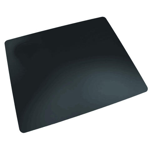 "LT61-2M Rhinolin II Ultra-Smooth Writing Pad Desk Mat 20"" x 36"" with Antimicrobial Product Protection, Black"