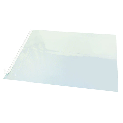 "SS2125 21"" x 25.5"" Second Sight II Plastic Desk Protector Film, Clear"