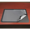 "Artistic 41100 19"" x 24"" Logo Pad Lift-top Desktop Organizer Desk Mat Black/Clear"