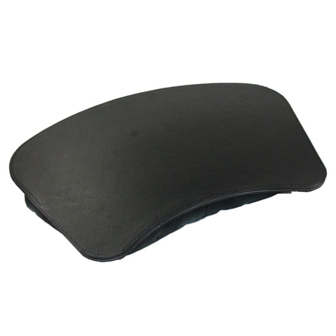 "4400-1-x 17"" x 12"" Lap Desk with Plush Pillow Med. Size, Black / Black Stitching"