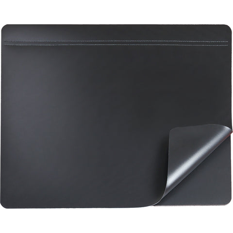 "48041 19"" x 24"" Hide-Away Lift Top Desk Organizer Pad - Helps meet HIPAA compliance, Black"