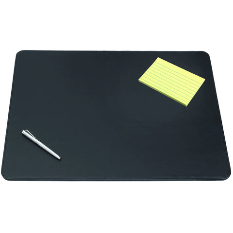 "5100-4-1 19"" x 24"" Sagamore™ Executive Designer Desk Pad, Black"