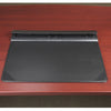 "Artistic 5166-3-1S 17"" x 22"" Executive Desktop Organizer Desk Pad Black"