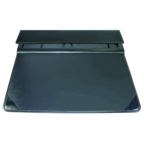 "5166-3-1S 17"" x 22"" Executive Desktop Organizer Desk Pad, Black"