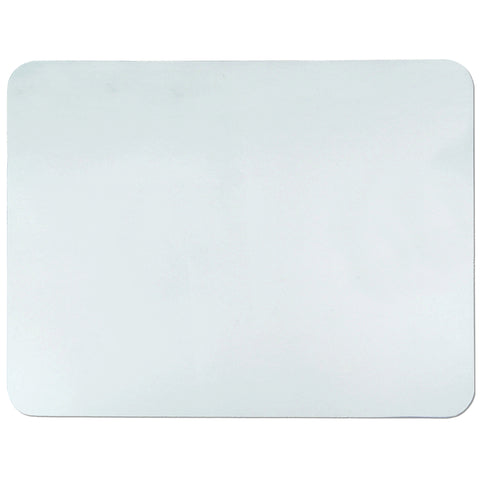 "60-4-0M 19"" x 24"" Krystal View™ Clear Antimicrobial Desk Pad Organizer with Microban®, Clear"