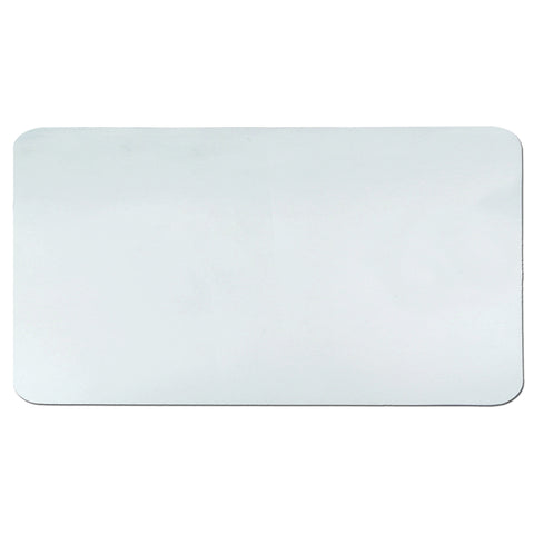 "60-6-0M Krystal View™ Clear Antimicrobial Desk Pad Organizer 20"" x 36"", Clear"
