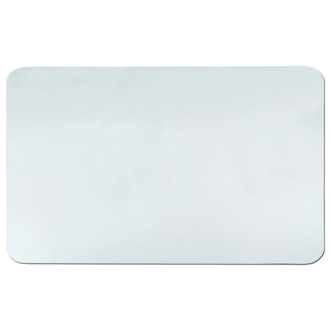 "60-8-0M 24"" x 38"" Krystal View™ Clear Antimicrobial Desk Pad Organizer with Microban®, Clear"