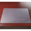 "Artistic 60440M 19"" x 24"" Krystal View Non-Glare Desk Pad Organizer Antimicrobial Protection Frosted"