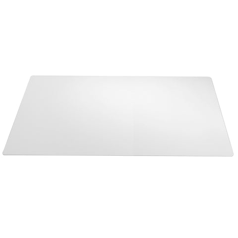 "70-3-0 17"" x 22"" Eco-Clear® Desk Pad Desk Protector with Microban Antimicrobial Protection, Clear"