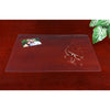 "Artistic 70-5-0 19"" x 24"" Eco-Clear Desk Pad Desk Protector Microban Antimicrobial Protection Clear"