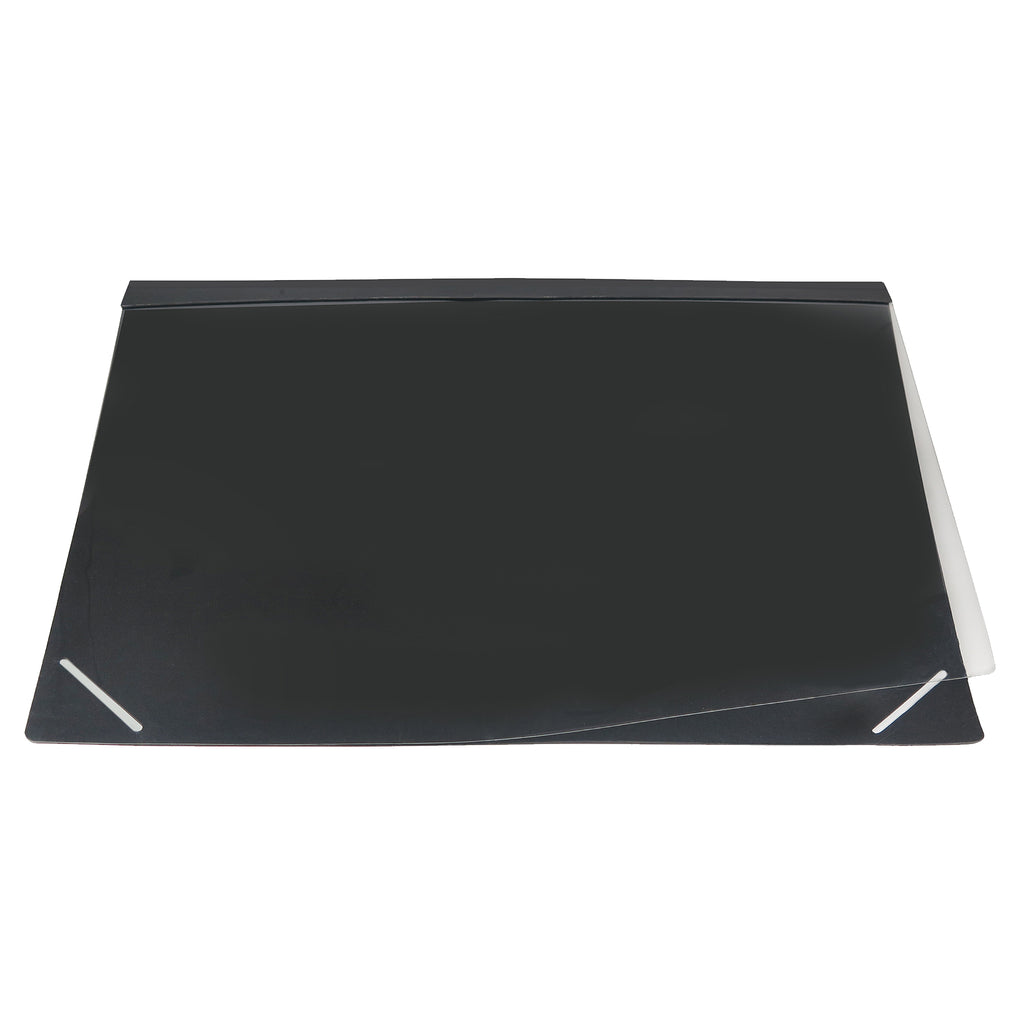 Lift Top Desk Mat Paper Desk Pad Protector with Opaque Overlay