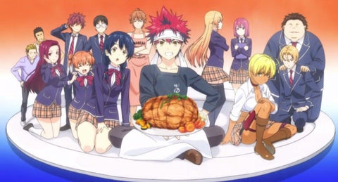 food wars season 5 - the fifth plate  - cover