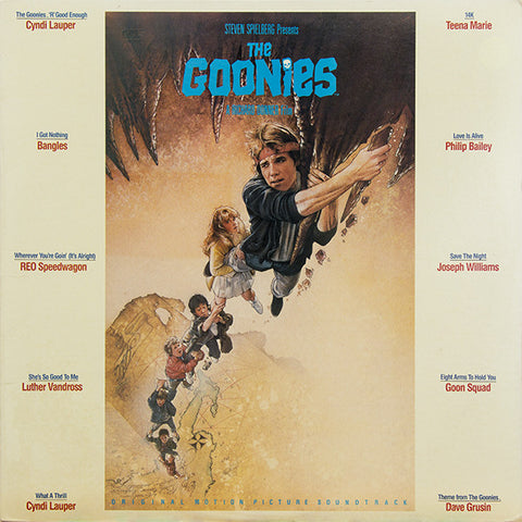 the goonies soundtrack -the - goonies -soundtrack - original - motion -