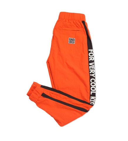 HEY YO TRACKSUIT ORANGE STRIPE PANT - ForVeryCoolKids