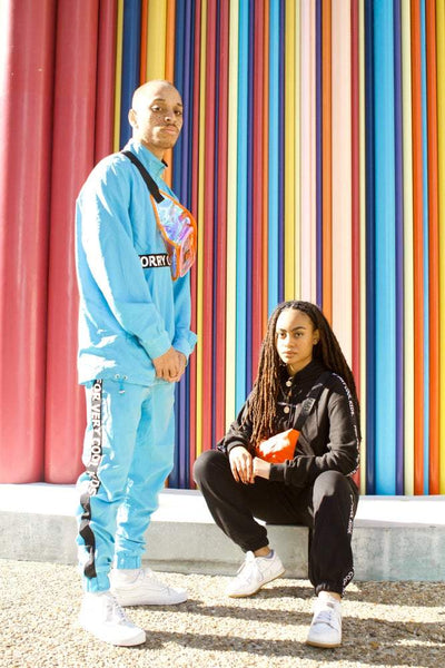 tracksuit jewel Usain skateboard forverycoolkids fvck ensemble