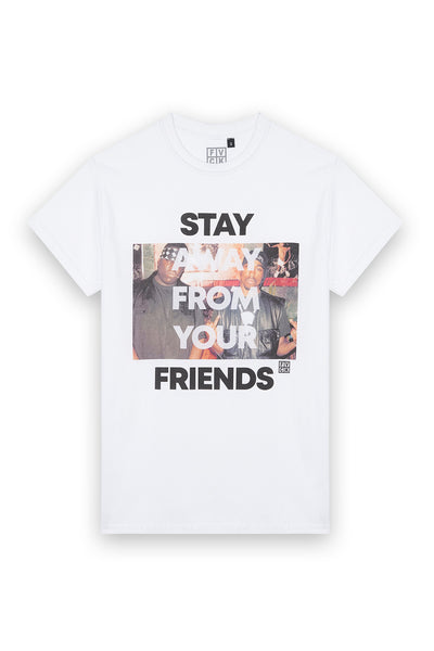tshirt Tupac - notorious big - stay away from your friends - hip hop - streetwear - forverycoolkids - fvck
