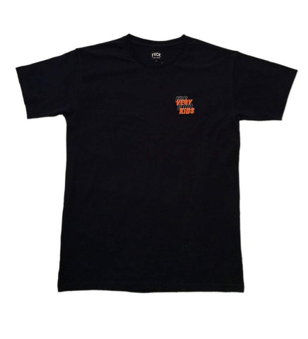 Club Tee Black Orange Halloween forverycoolkids