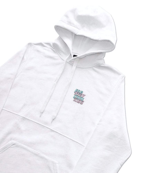 Club hoodie forverycoolkids BLANC white fvck sweat