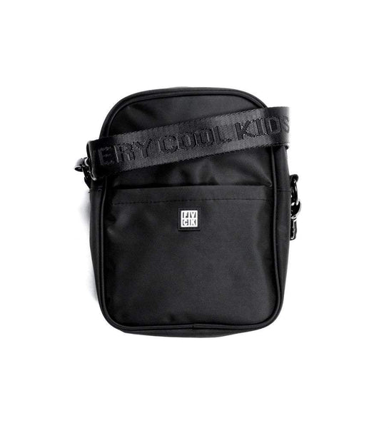 TEAM SIDE BAG SHOULDER BLACK - ForVeryCoolKids s'accroche noir poches sac streetwear lifestyle