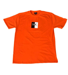 Split Tee Orange - ForVeryCoolKids